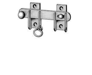Sicherheits-Blendenüberleger mit Ring Klappladenbeschläge